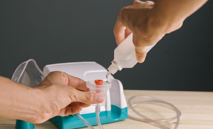 Антибактериальные средства для небулайзера